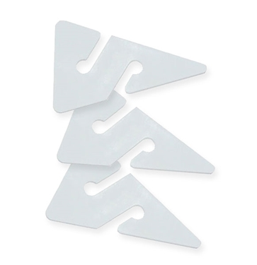 Picture of 3 Line Arrows - White