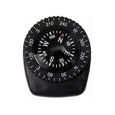 """Picture of Precision """"Watch Band Clip-on"""" Navigation Compass Tool"""