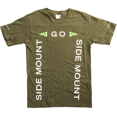 Picture of Go Side Mount T-Shirt Olive