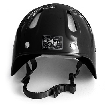 Picture of Side Mount Helmet Black