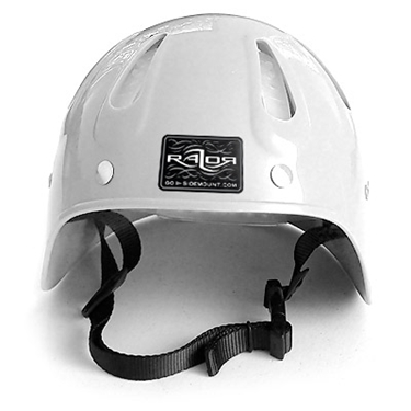 Picture of Side Mount Helmet White