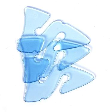 Picture of 3 Line Arrows - Transparent Blue